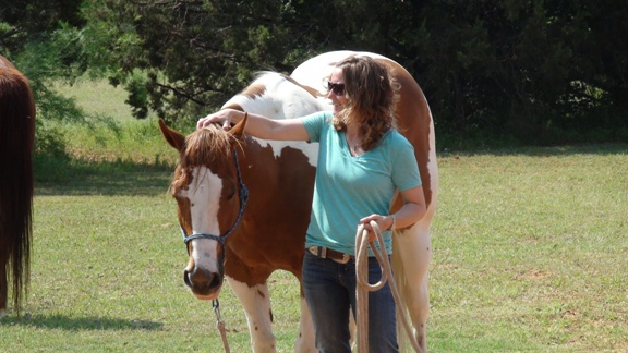Christi Rains' Early Bird Special drawing winner gets a free one-hour private lessing with 4* Parelli Natural Horsemanship Instructor Christi Rains