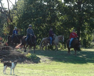 Ride with 4-Star Parelli Instructor Christi Rains on the scenic Brazos River in Texas